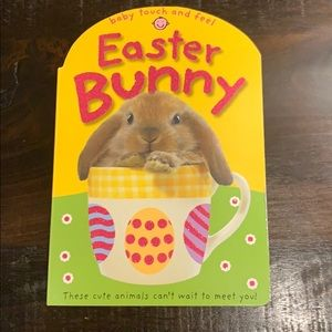 Baby Touch & Feel Easter Bunny Book